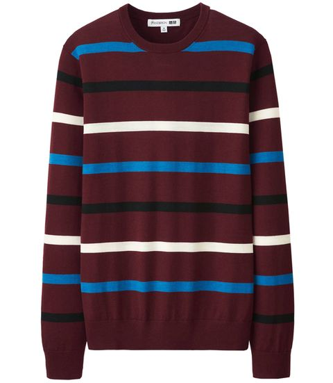Clothing, Long-sleeved t-shirt, Sleeve, Sweater, T-shirt, Maroon, Outerwear, Jersey, Top, Neck,