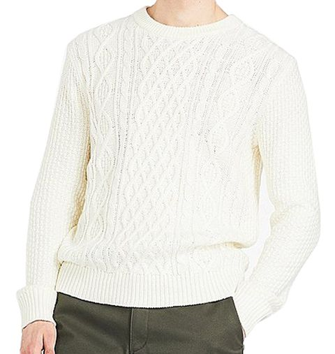 Clothing, White, Sleeve, Neck, Outerwear, Sweater, Beige, Long-sleeved t-shirt, Top, Ivory,