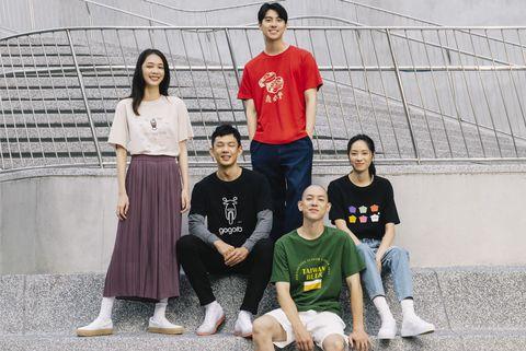 uniqlo 10週年台灣品牌聯名系列