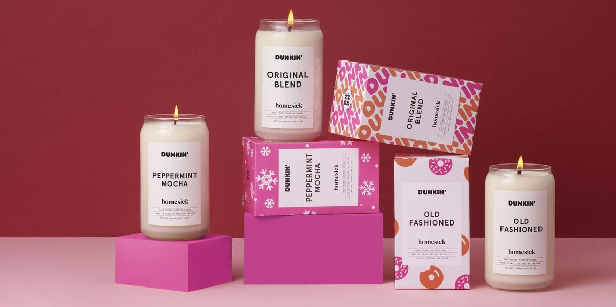 You Can Now Buy Candles That Smell Just Like Dunkin Coffee And Donuts