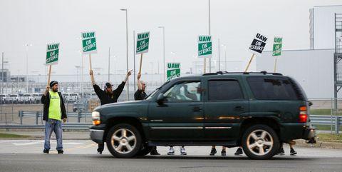 UAW Is on Strike against GM
