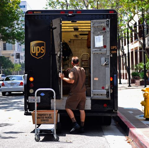UPS holiday workers