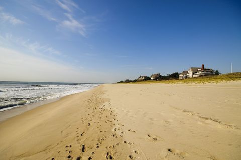 La Main Beach di East Hampton