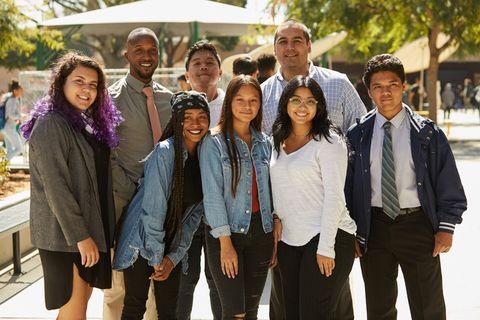 students, los angeles, high school, communities in schools