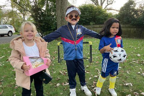 kids diy halloween costumes ted lasso