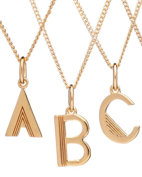 initial jewellery - best initial necklace