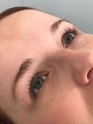 Microblading Eyebrows Before Picture