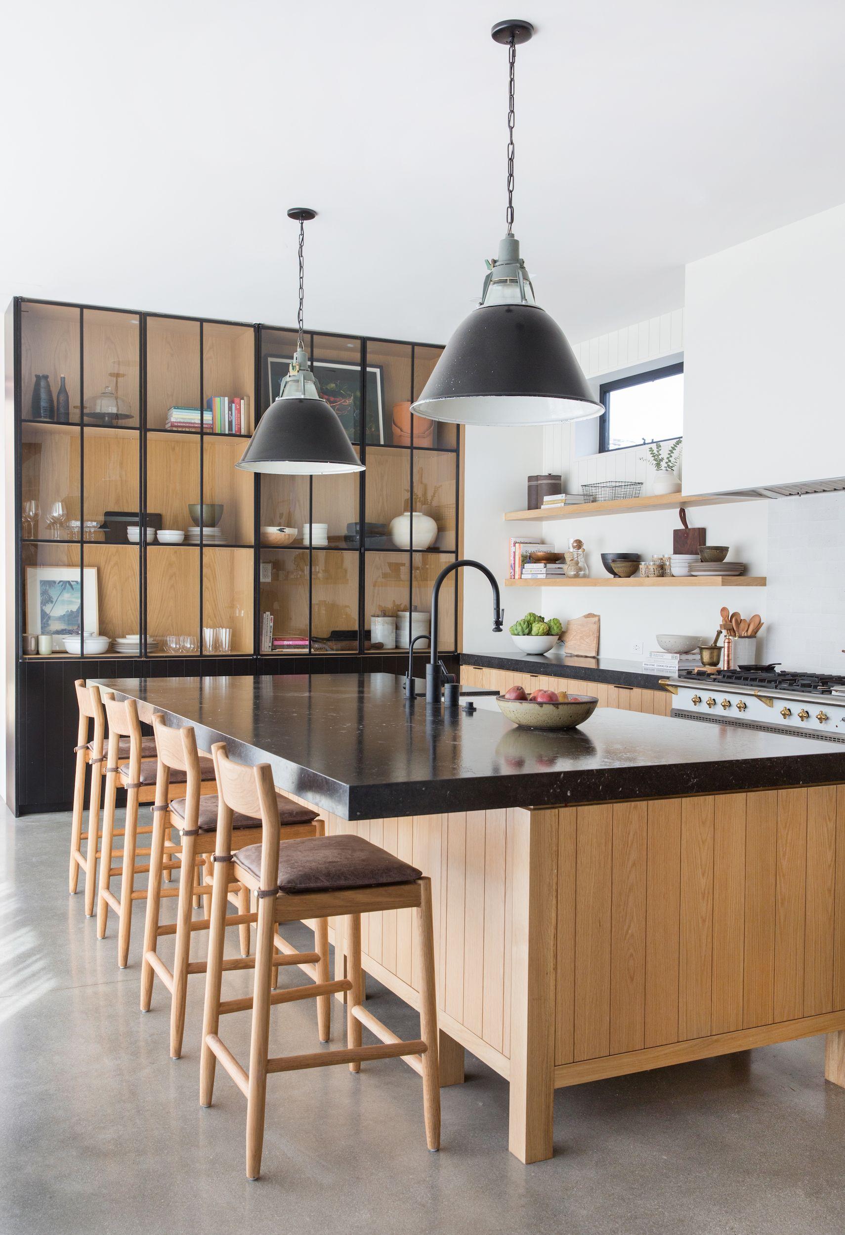 Image of: 11 Black Kitchens Black Cabinet And Backsplash Ideas