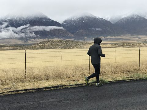 Tommy Green runs across Utah to raise funds and awareness for fighting human trafficking.