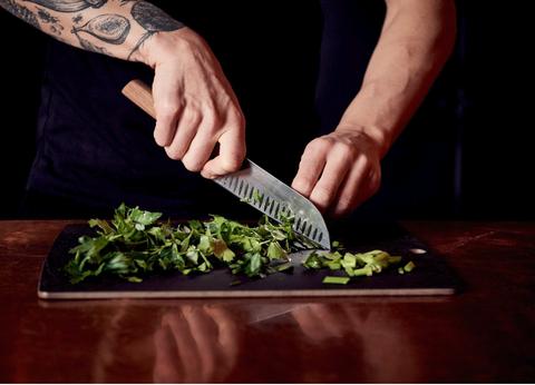 Food, Leaf vegetable, Vegetable, Cruciferous vegetables, Dish, Cuisine, Herb, Hand, Plant, Recipe,