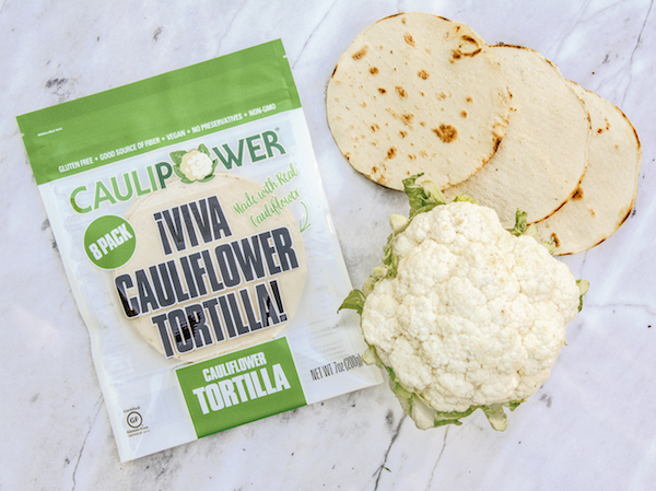 Praise The Low-Carb Gods: Cauliflower Tortillas Are Coming To Stores Soon