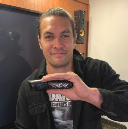 Jason Momoa Is Auctioning Off His Braun Beard Trimmer on eBay for Charity