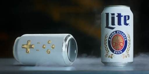 Miller Lite Created A Video Game Controller Out Of A Beer Can