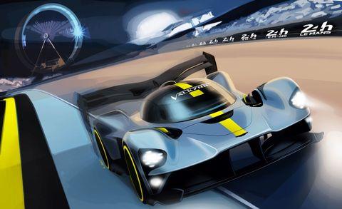 Aston MartinValkyrie Le Mans