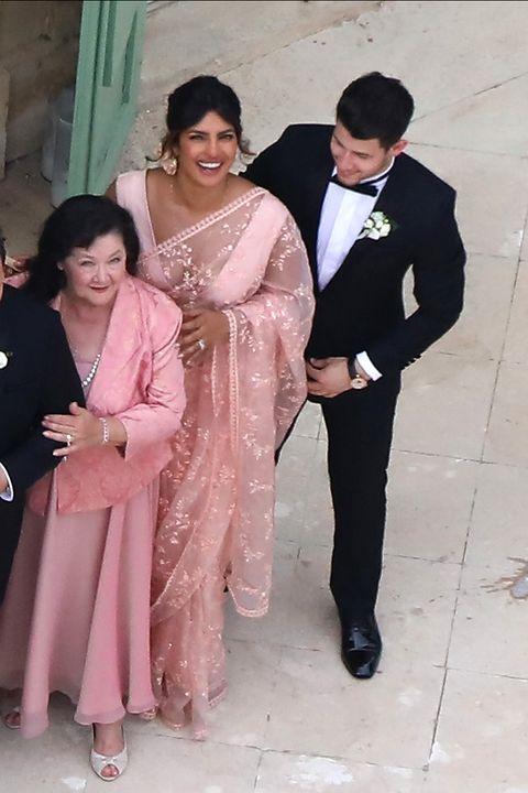 Priyanka Chopra Wedding.What Priyanka Chopra And Nick Jonas Wore To Sophie Turner And Joe