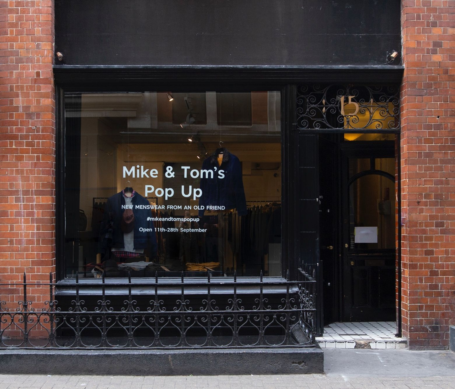 Marks & Spencer's Menswear Pop-up Just Opened in Soho