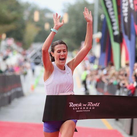 Pink, Sports, Cheering, Athlete, Fun, Recreation, Competition, Competition event, Endurance sports, Marathon,