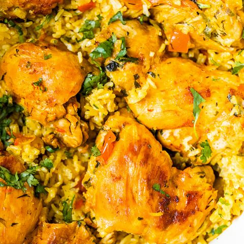 Dish, Cuisine, Food, Saffron rice, Biryani, Arroz a la valenciana, Ingredient, Rice, Arroz con pollo, Pilaf,