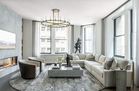 Living room, Furniture, Room, Interior design, Ceiling, Property, Building, Coffee table, Floor, Table,