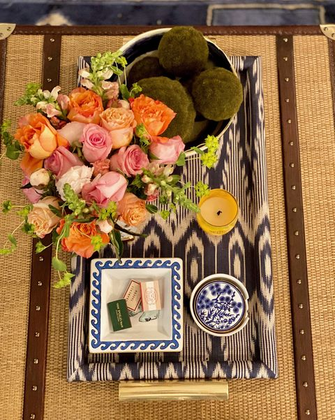 how to style your coffee table like an editor