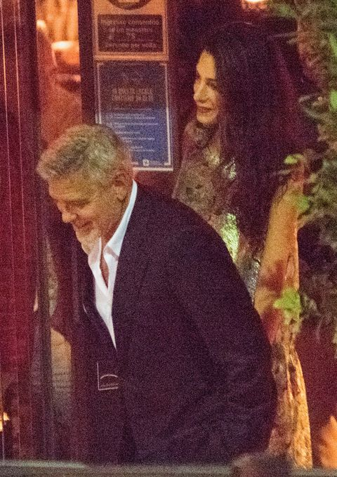 The Clooneys out to dinner at Gatto Nero restaurant - again Unknown-2-1627676712