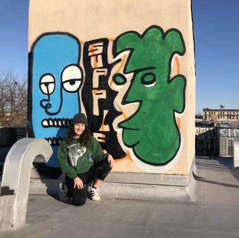 Green, Wall, Art, Graffiti, Street art, Cool, Font,