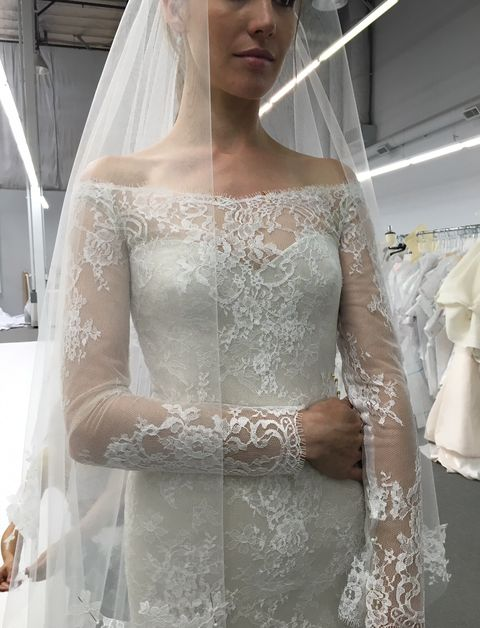 Inside The Ings For Anastasia Steele S Wedding Gown In Fifty Shades Freed