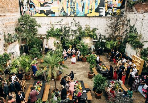 Floristry, Event, Floral design, Plant, Art, Flower, Crowd, Tourism, Leisure, Houseplant,