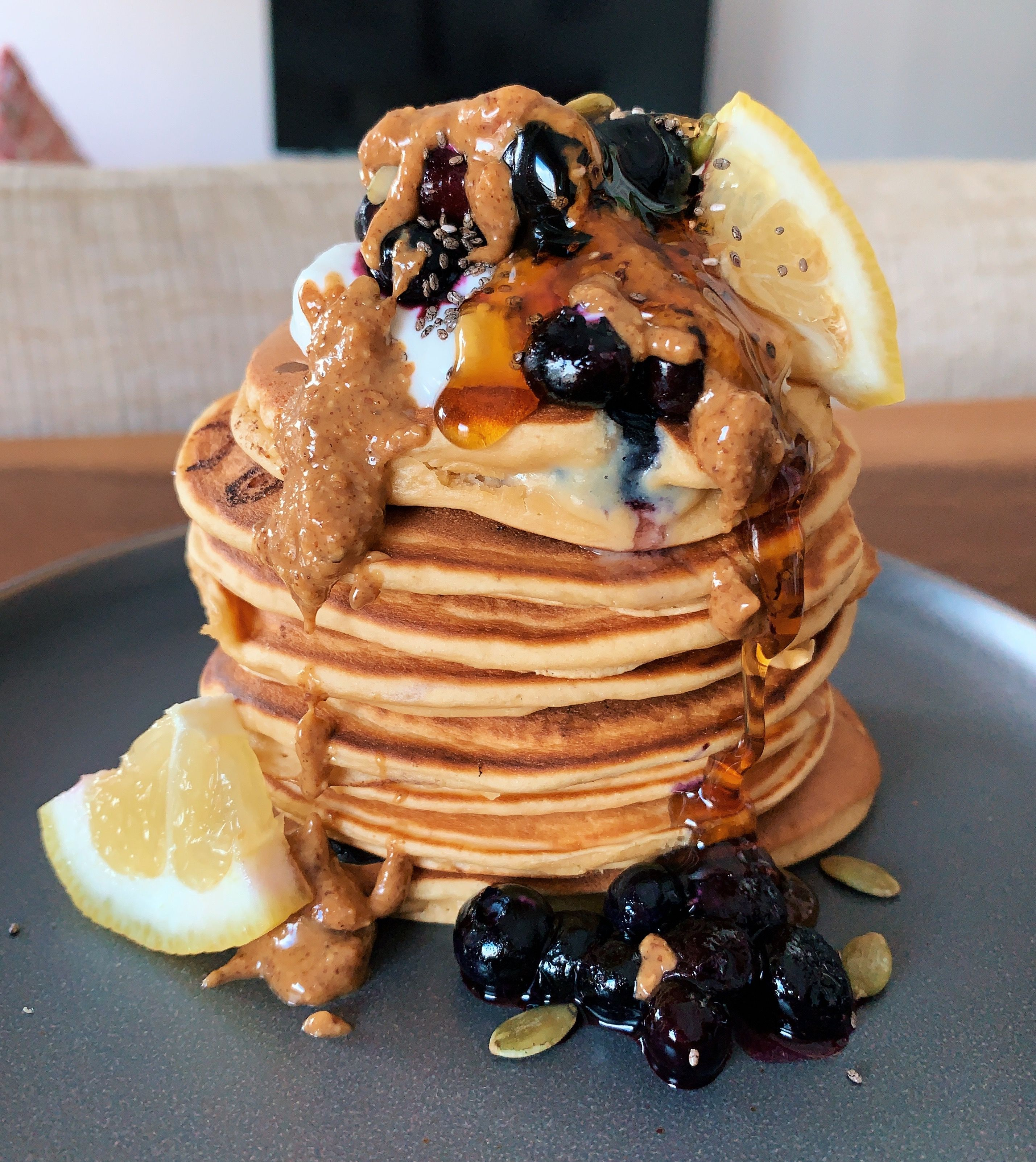 Emma Abrahamson's Massive Stack of Pancakes Is Here to Make Your Morning Brighter