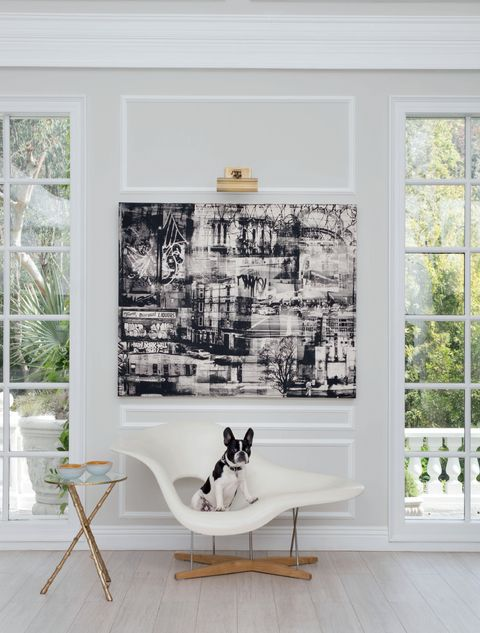 White, Furniture, Room, Interior design, Wall, Black-and-white, Home, Chair, House, Table,
