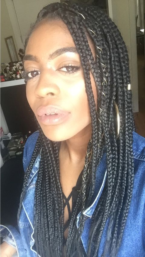Well hung black shemale fucks girl