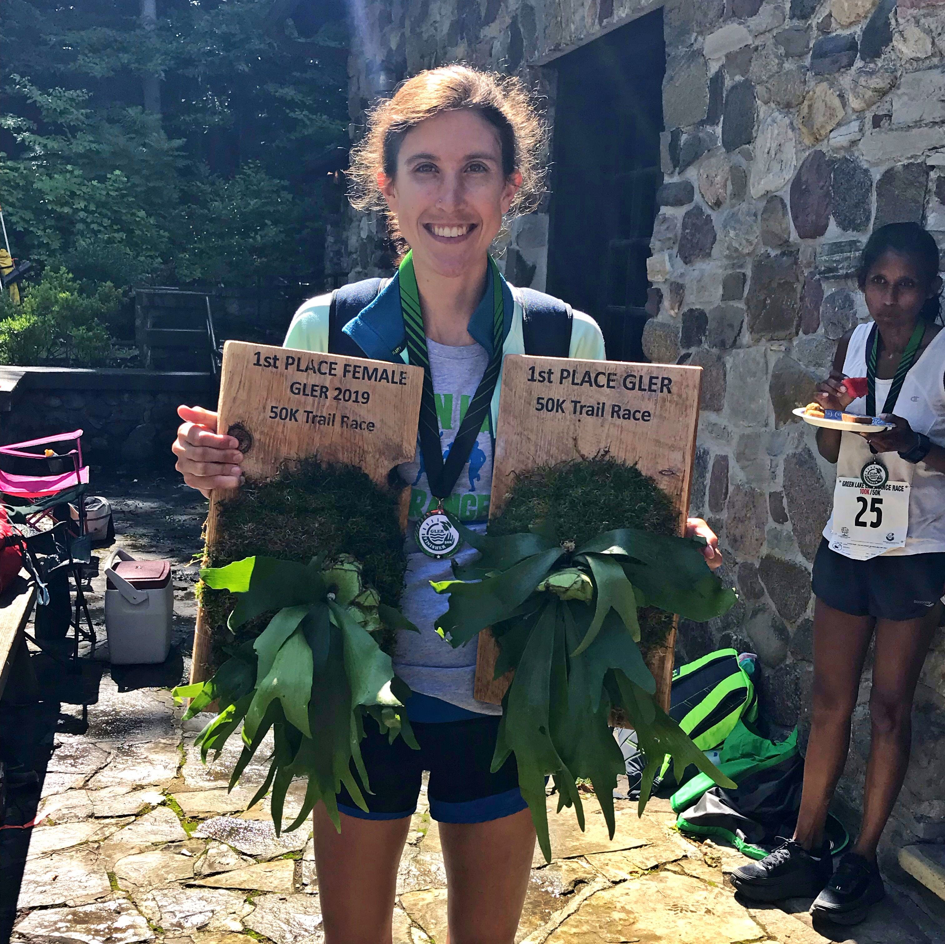 Woman Wins 50K Ultra Outright, Trophy Snafu for Male Winner Follows