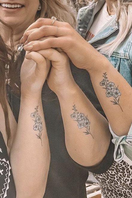 30 Mother Daughter Tattoos Mother Daughter Tattoo Ideas