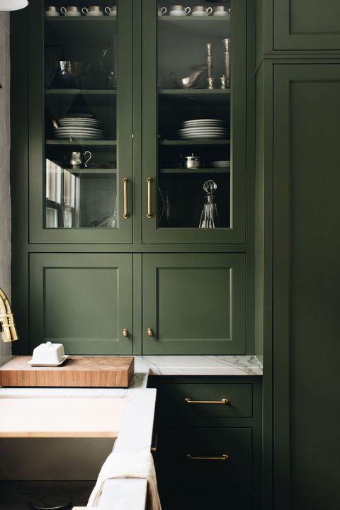 Room, Cabinetry, Furniture, Cupboard, Interior design, Door, Kitchen, Architecture, Building, Home,
