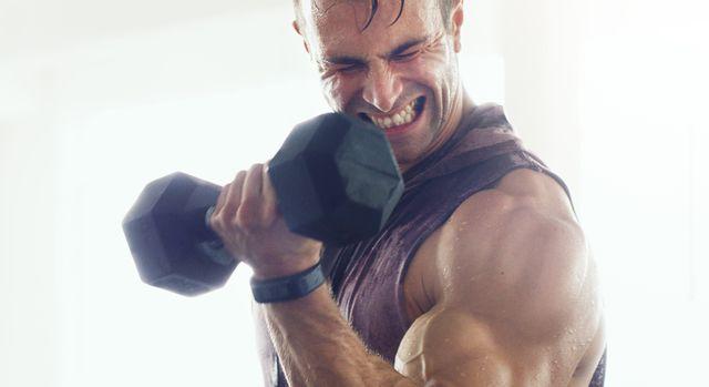 entrenamiento de pesas