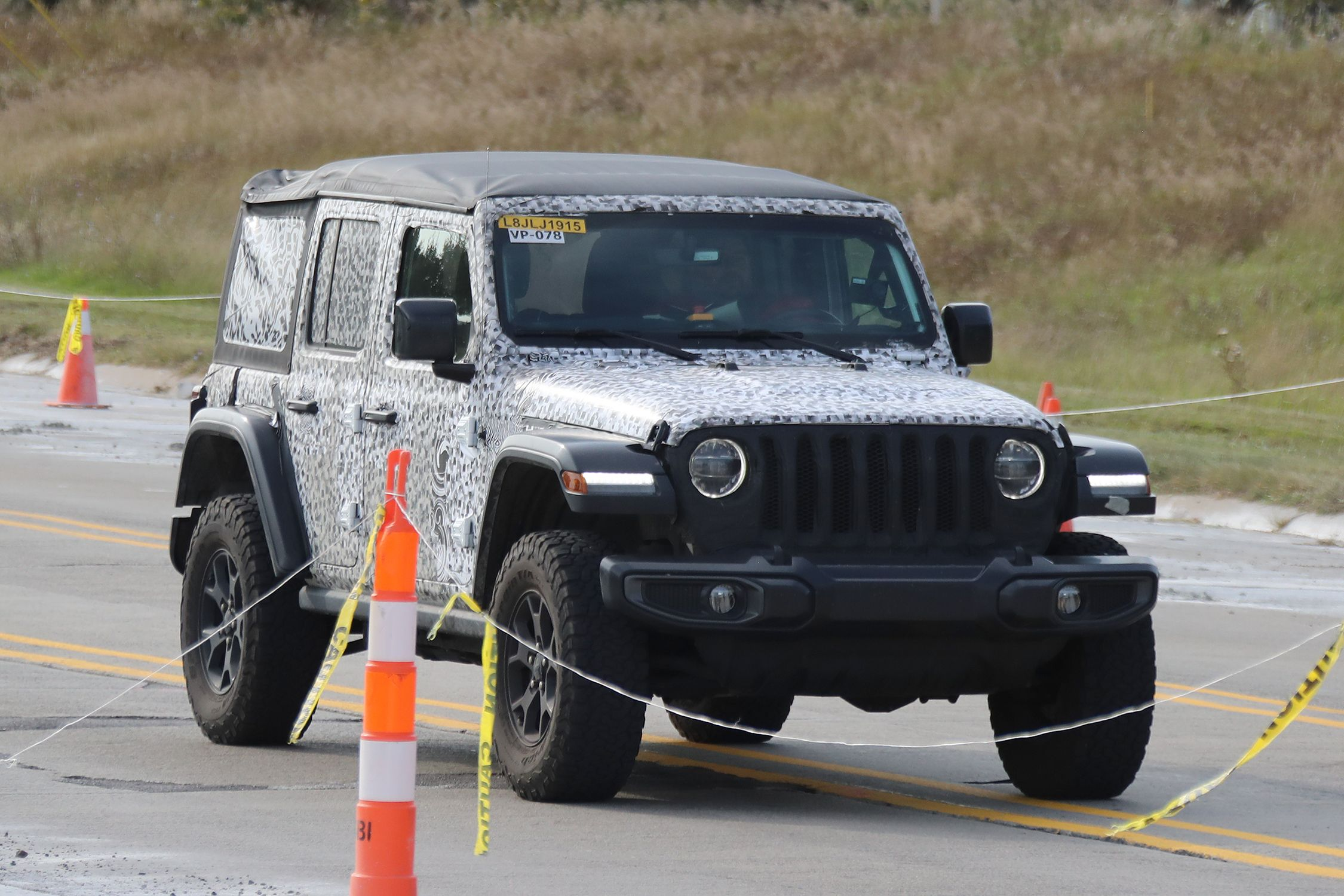 2018 Jeep Wrangler Spy s What Every New Jeep Wrangler Variant