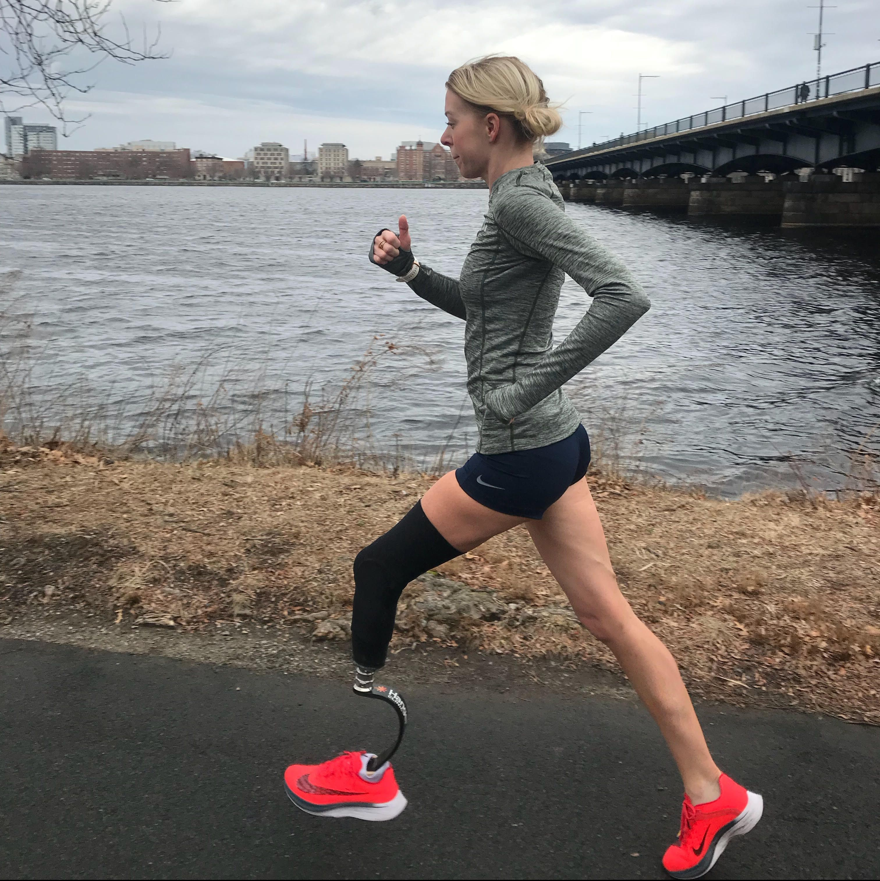 Boston Bombing Survivor Adrianne Haslet After Car Strike: Don't Call Me a 'Victim'
