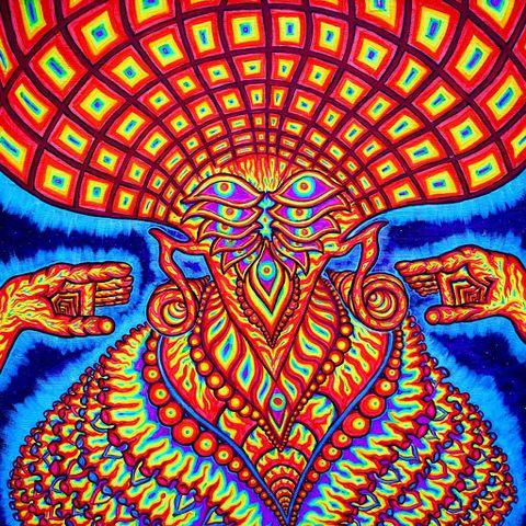 Psychedelic art, Art, Symmetry, Illustration, Pattern, Visual arts,