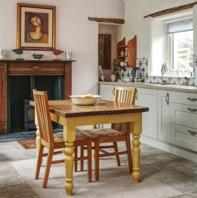 kitchen in a country cottage