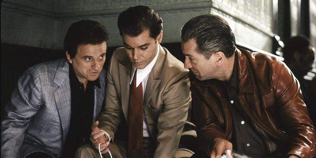 De Niro Pesci Y Ray Liotta Mafiosos En Uno De Los Nuestros