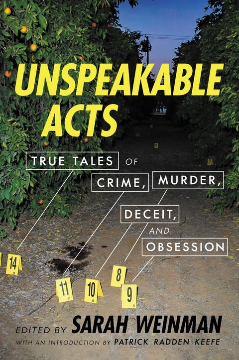 book cover 'unspeakable acts' by sarah weinman