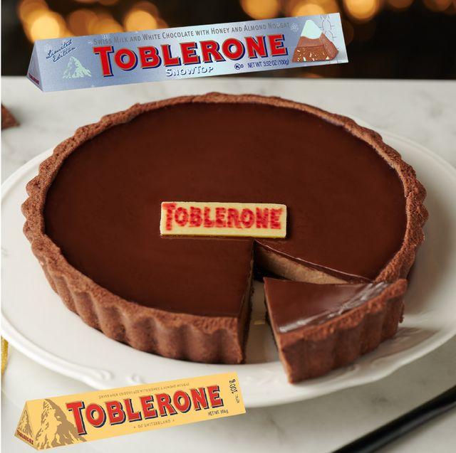 全聯聯名瑞士三角巧克力甜點