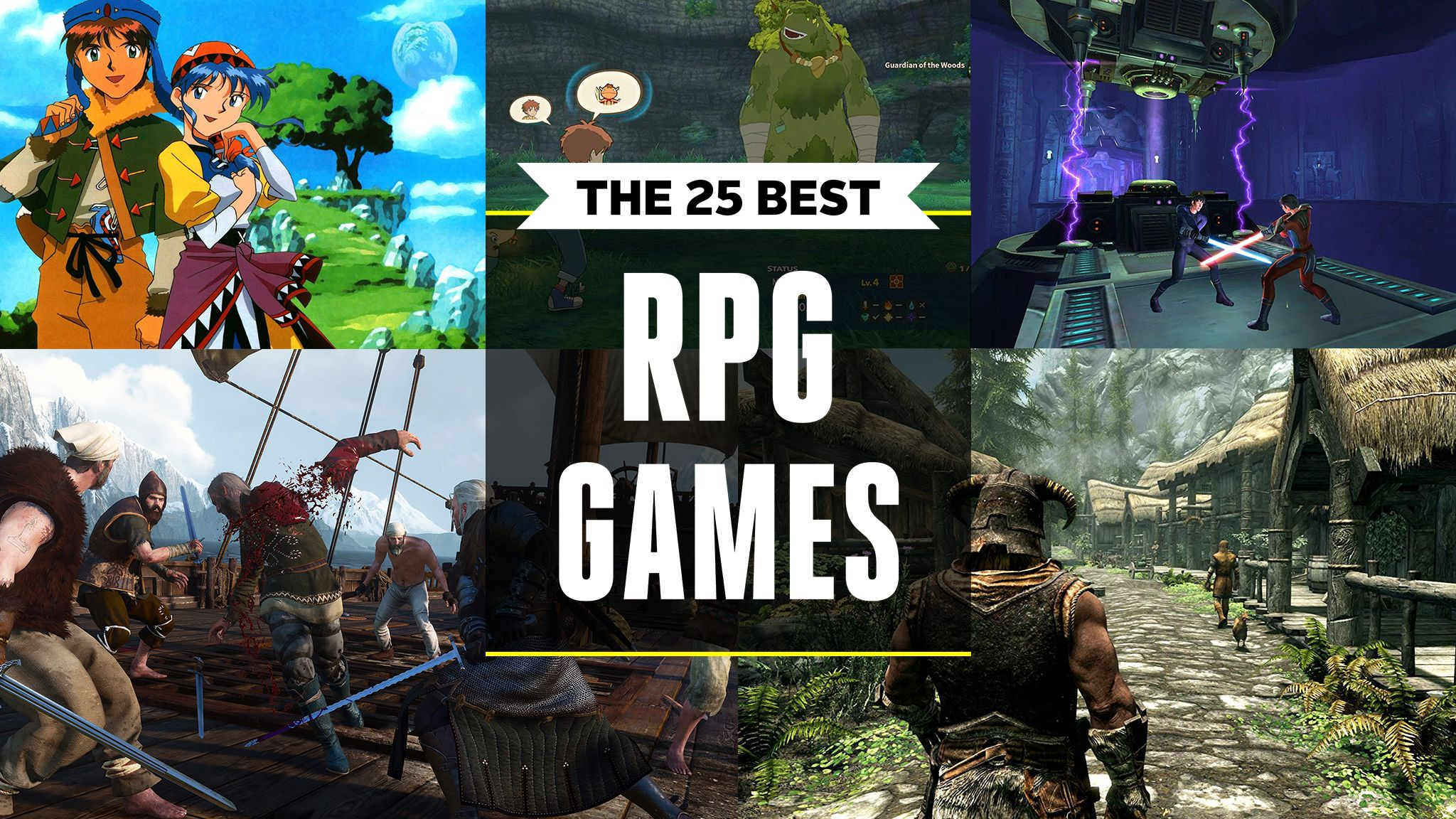 The 25 Best RPG Games