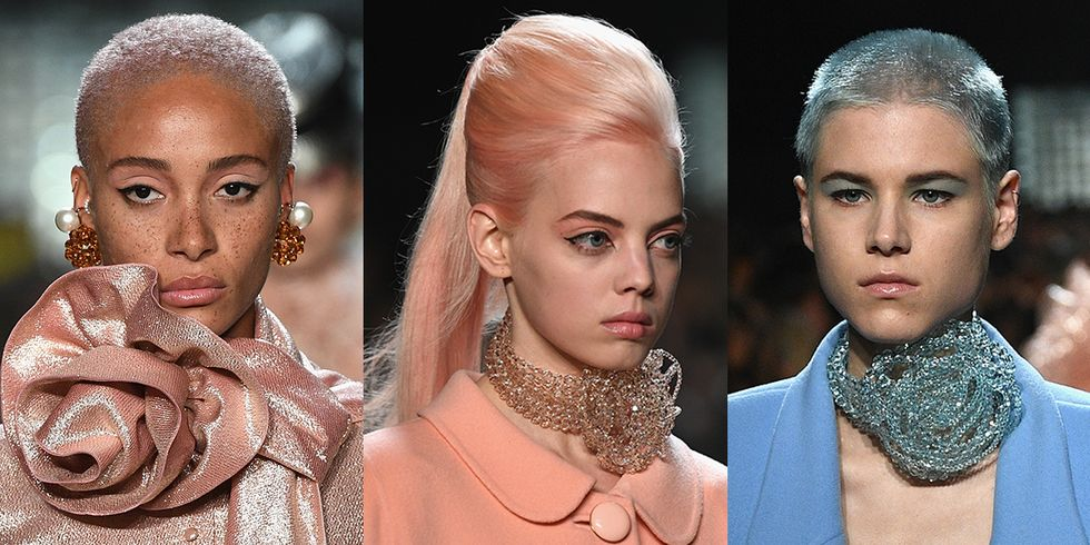 37 Models Dyed Their Hair Pastel for the Marc Jacobs Runway Show