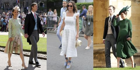 ab671a21ce59d Pippa Middleton's Best Maternity Outfits - Pippa Middleton Post Baby ...