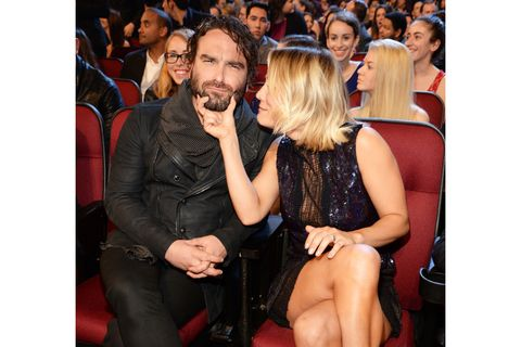 Johnny Galecki Kaley Cuoco Big Bang Theory