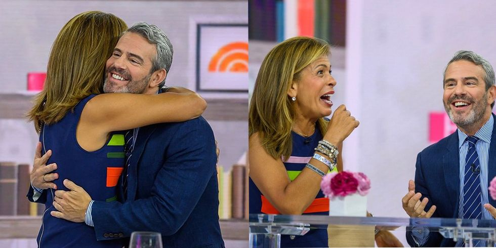 'Today' Fans Have Lots of Thoughts About Andy Cohen Hosting Alongside Hoda Kotb