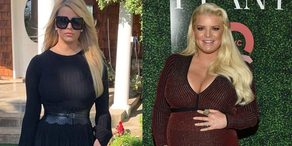 Jessica Simpson Lost 100 Pounds In Six Months After Giving Birth To Birdie Mae