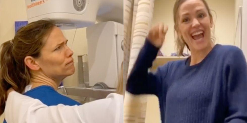 Jennifer Garner Had the Time of Her Life at Her Latest Mammogram