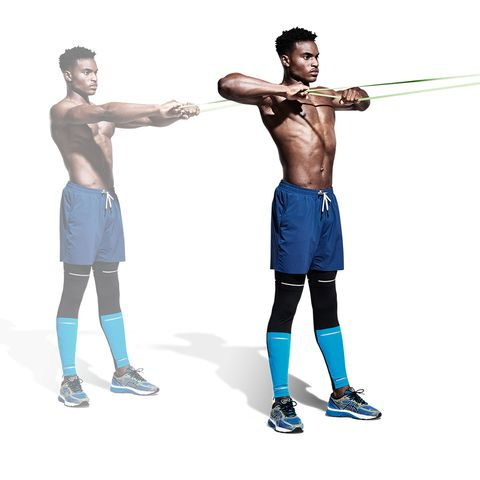 Shoulder, Standing, Joint, Arm, Exercise equipment, Muscle, Physical fitness, Barbell, Strength training, Abdomen,